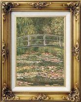 Old Master reproductions: 'Bridge over Lily Pond' by Monet